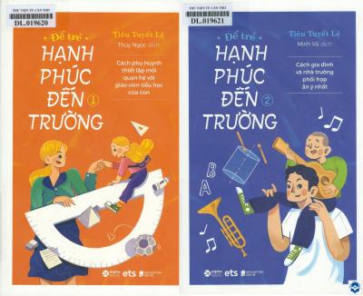 """Bộ sách """"Để trẻ hạnh phúc đến trường"""""""