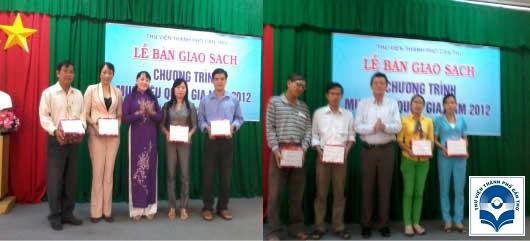 Lễ bàn giao sách Chương trình mục tiêu quốc gia năm 2012