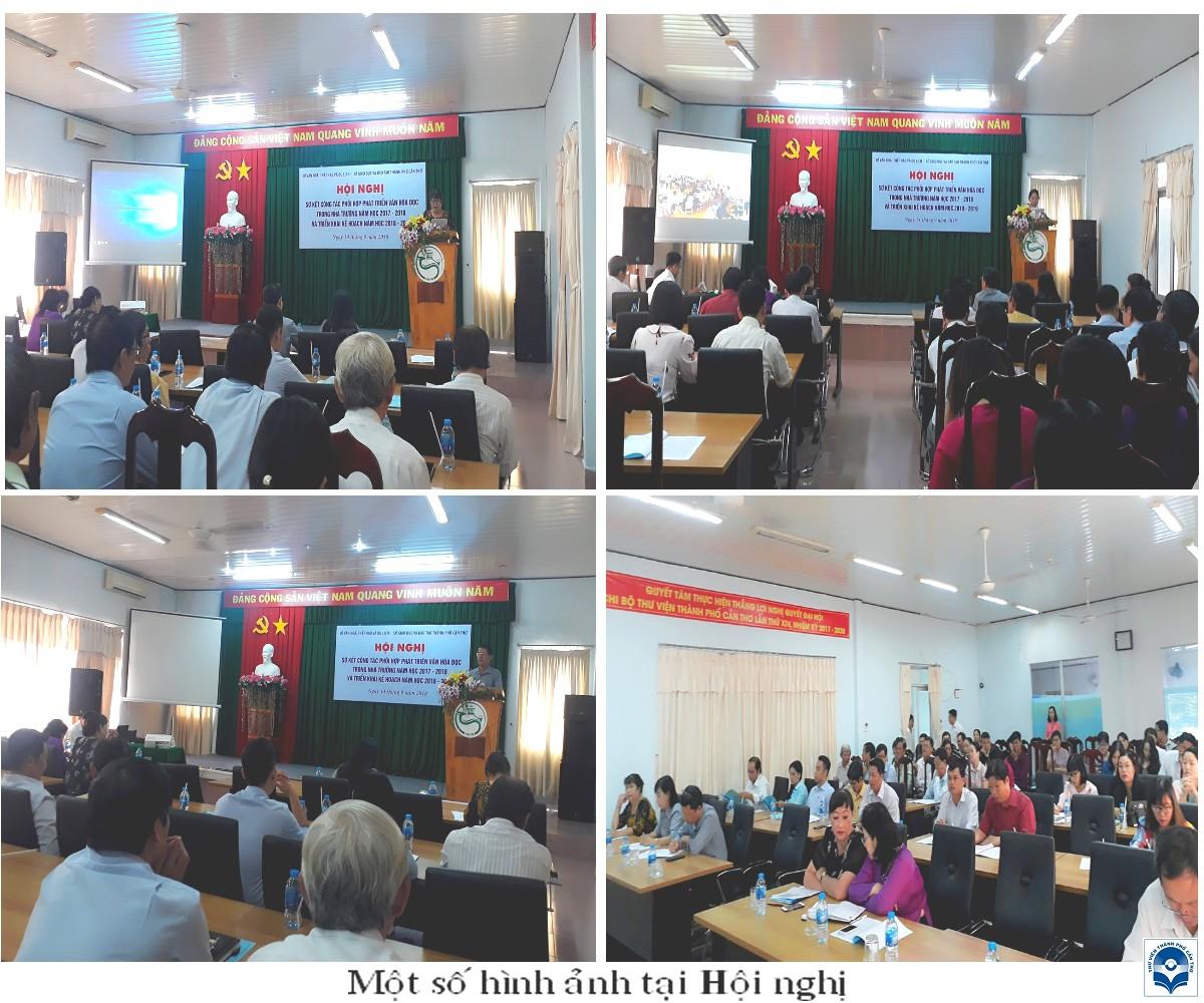 Hội nghị sơ kết công tác phối hợp phát triển văn hoá đọc trong nhà trường năm học 2017 – 2018