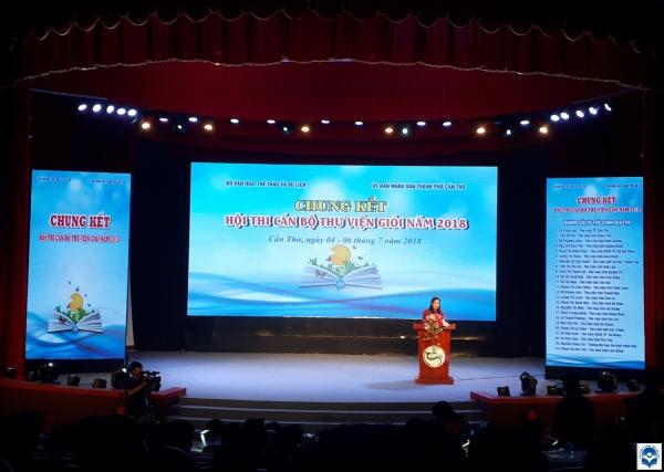 Lễ khai mạc Chung kết Hội thi Cán bộ Thư viện giỏi năm 2018